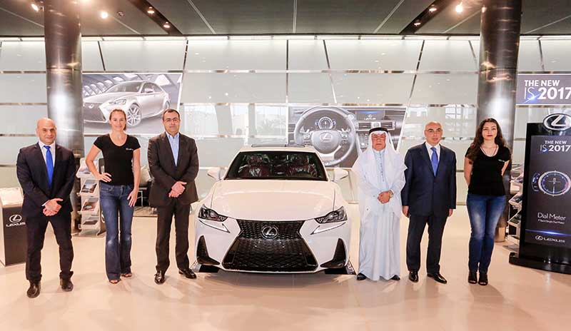 New Lexus IS launched
