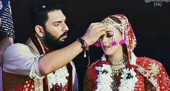 Photos: Virat and Anushka shake a leg at Yuvraj and Hazel's wedding ceremony in Goa