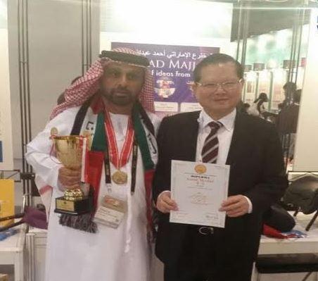 Emirati inventor shines in Hong Kong