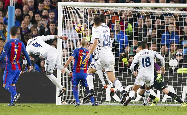 Ramos stars as Real hold Barca
