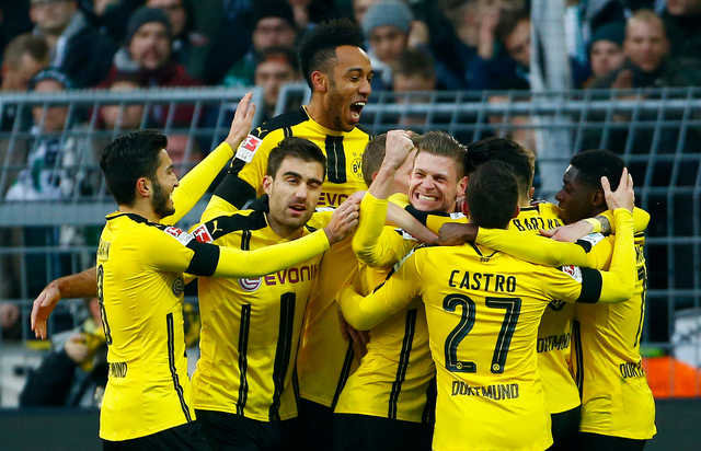 Bundesliga: Borussia Dortmund recovers after defeating Borussia Moenchengladbach
