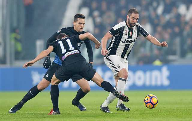 Juventus ends Atalanta's dream run in Serie A with a 3-1 win