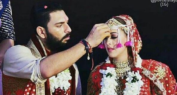 Photos: Virat and Anushka shake a leg at Yuvraj and Hazel's wedding ceremony in Goa