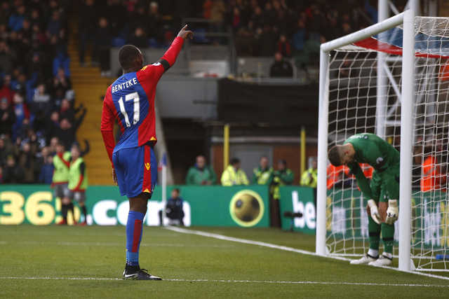 EPL: Birthday boy Benteke helps Palace beat Southampton 3-0