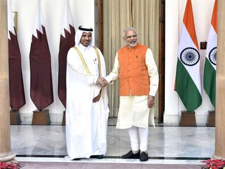 India, Qatar sign agreements on visas, cyberspace, investments
