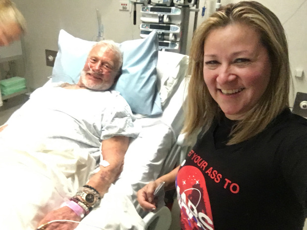 Buzz Aldrin recovering after polar evacuation, can't go home