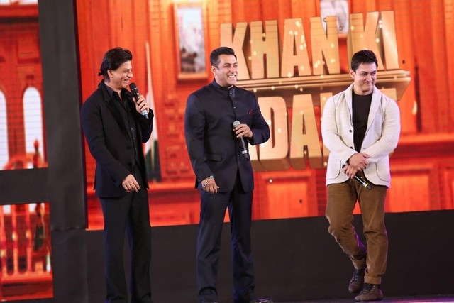 SRK: Salman and I will definitely work together in a film
