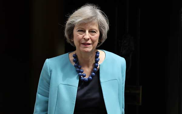 GUEST OF HONOUR: May's visit signals strong relations