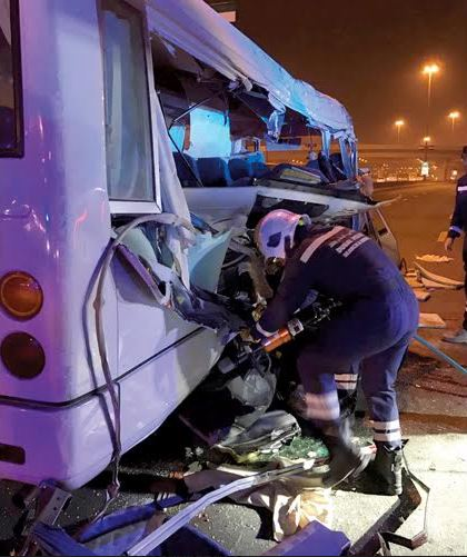 Five killed in horrific road accident in Dubai