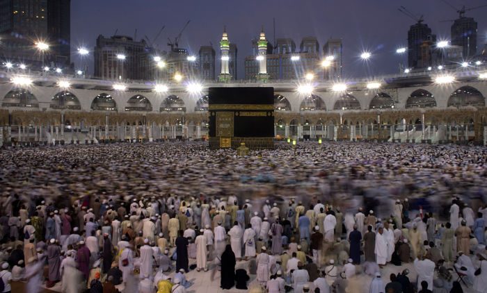 In Pictures: A rare glimpse inside the Kaaba