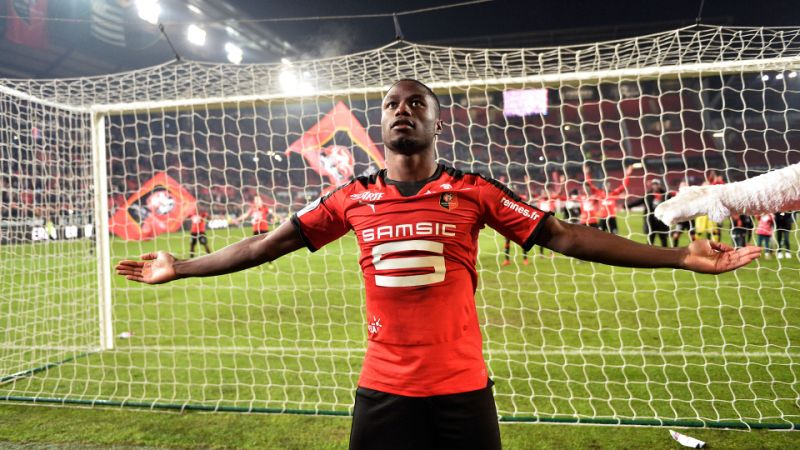 Rennes goes fourth in France after beating Saint-Etienne 2-0