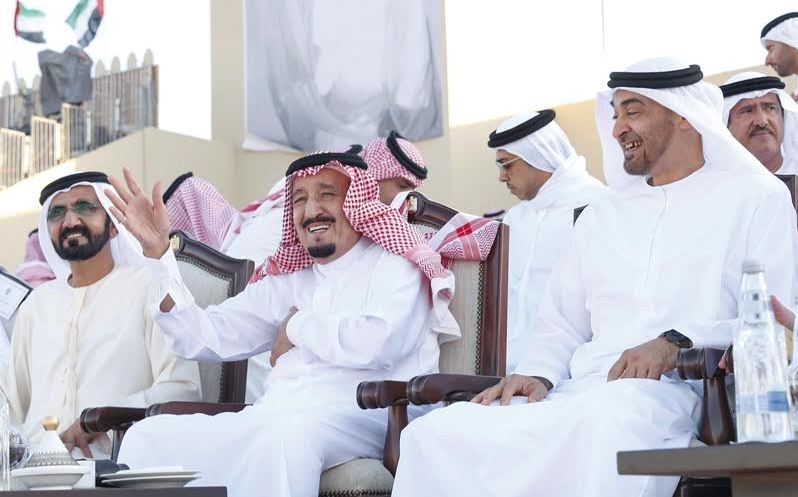 Photos: Saudi, Emirati leaders attend UAE Union Procession