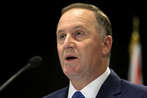 New Zealand Prime Minister John Key resigns after eight years