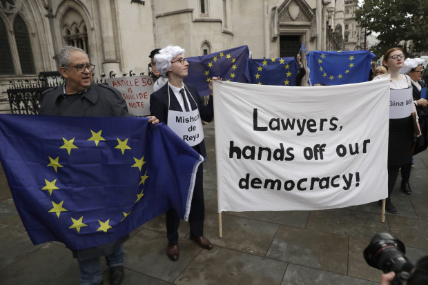UK government's Brexit plans in hands of Supreme Court