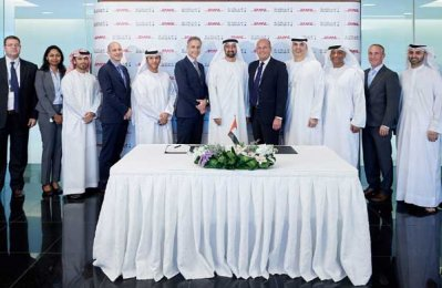 DHL, Mubadala form strategic partnership