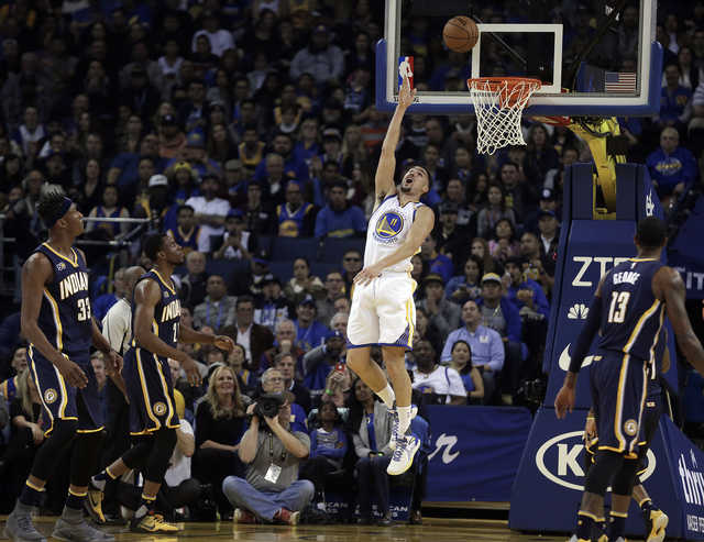 Other Sports: NBA: Thompson scores 60 points as Indiana Pacers fall to Golden State Warriors