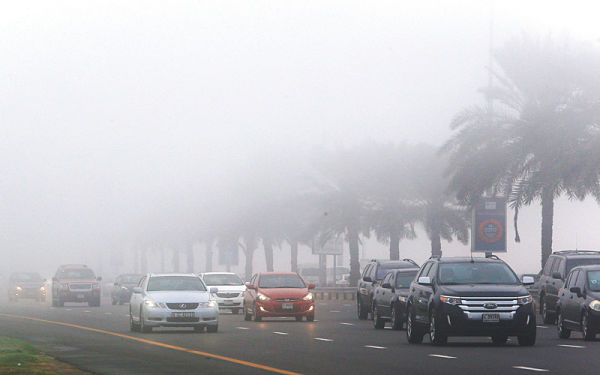 Thick fog causes 107 road accidents in 5 hours