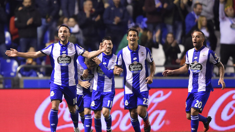 Deportivo La Coruna tops Real Sociedad 5-1 in Spanish league