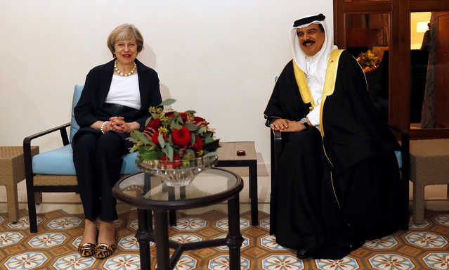 British PM joins Gulf summit for post-Brexit trade talks