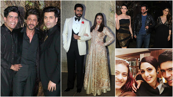 In Pictures: SRK, Aishwarya Rai, Kareena party hard at Manish Malhotra's birthday bash