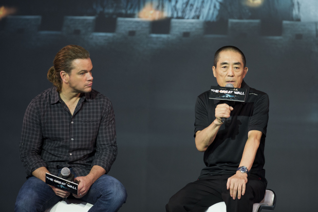 Matt Damon says 'Wall' role never intended for Asian actor