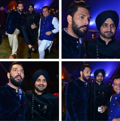 Pictures of Yuvraj Singh-Hazel Keech's sangeet celebration in Delhi