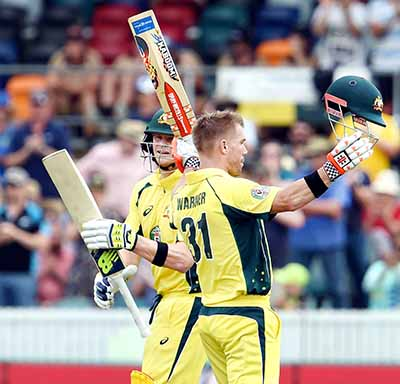 Australia clinch series