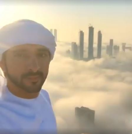 Watch: Shaikh Hamdan shares AMAZING view of foggy Dubai morning