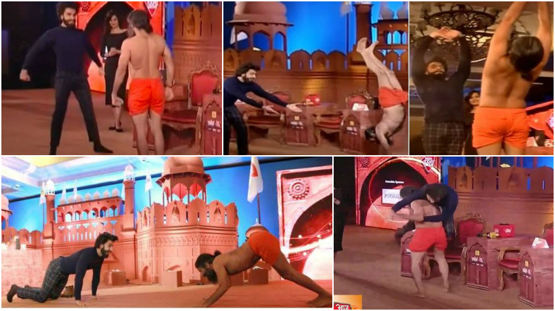 Photos: Ranveer Singh challenged Baba Ramdev and this is what happened next