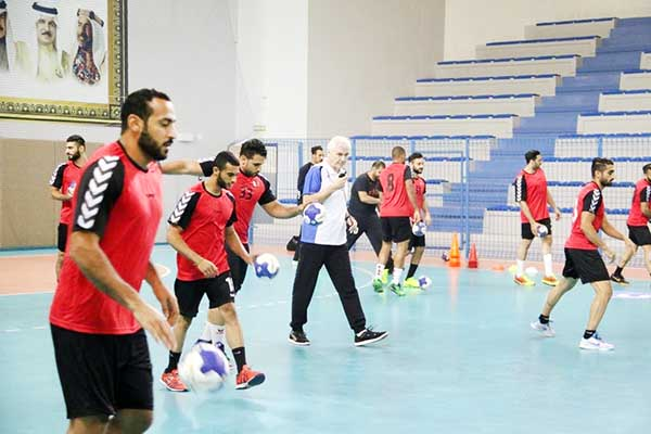 Bahrain sports: Tour of duty for handball squad