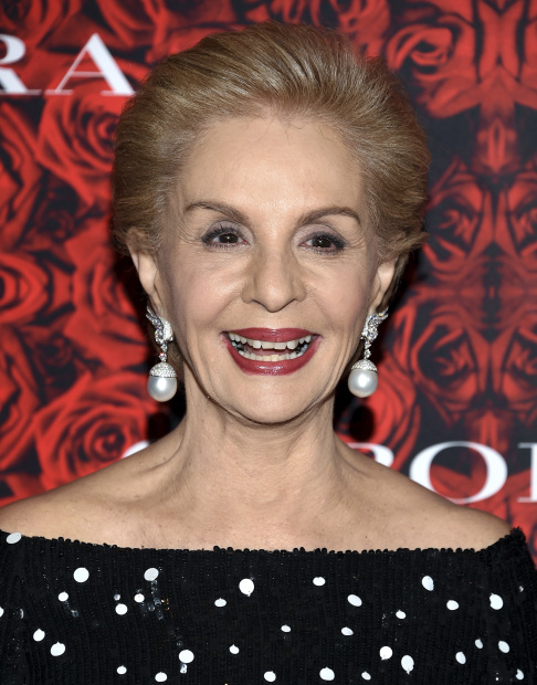 Carolina Herrera says it's an honour to dress Melania Trump