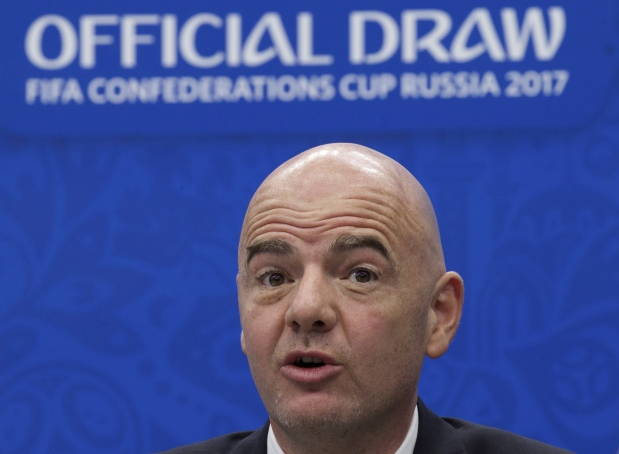FIFA chief defends 48-team World Cup