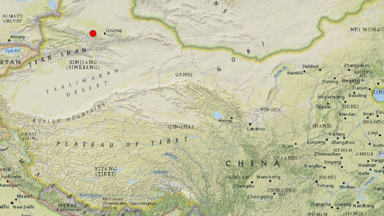 Quake of magnitude 6.2 strikes China's Xinjiang, no casualties reported