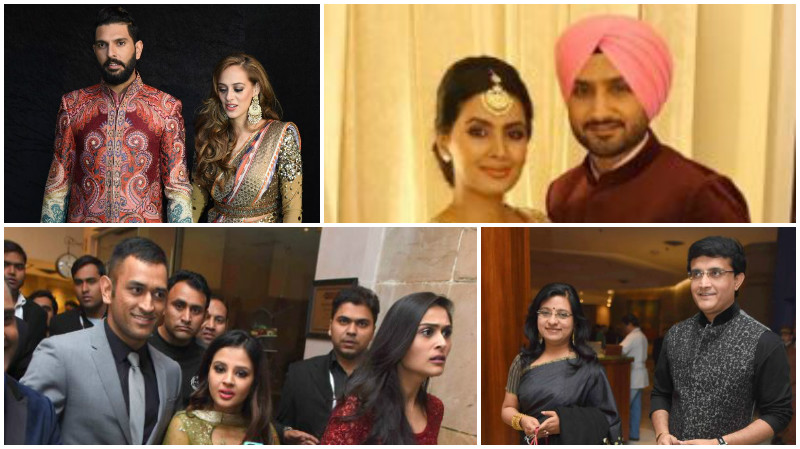 Pictures: Cricketers and politicians at Yuvraj-Hazel's wedding reception