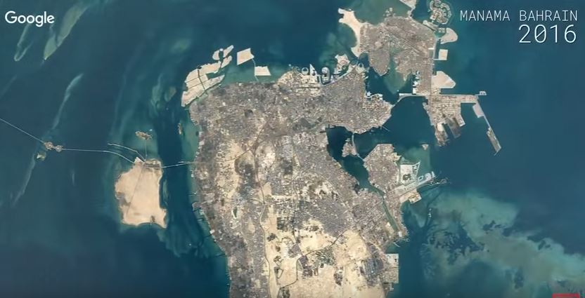 Google Timelapse video shows how Bahrain has changed over 30 years!