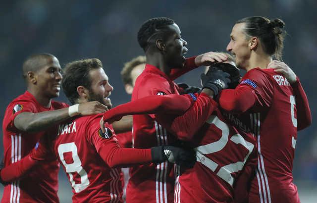 Mkhitaryan, Ibrahimovic score for United to win 2-0 at Zorya
