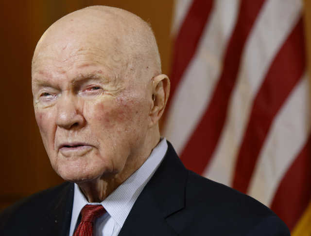 John Glenn, the first American to orbit Earth, dies at age 95