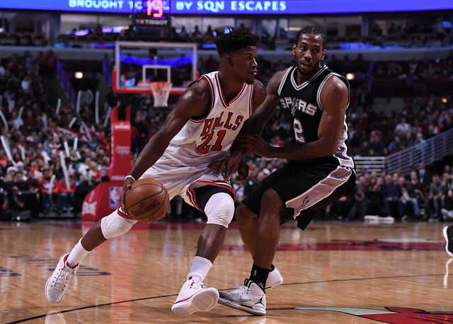 NBA: San Antonio Spurs fall to Chicago Bulls 95-91 after winning first 13 road games