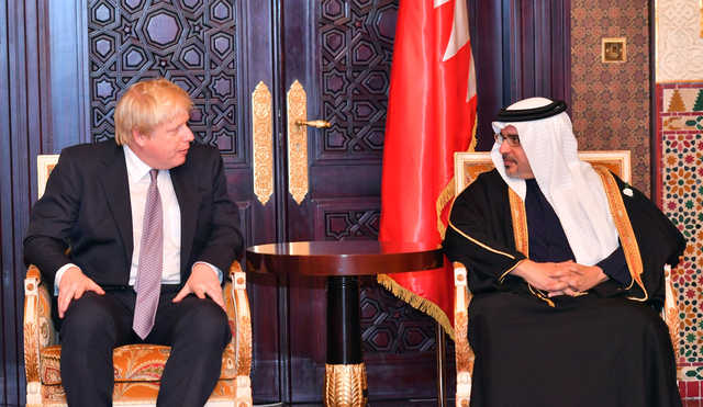 In Pictures: UK-Gulf security ties to be stepped up
