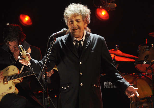 Bob Dylan expresses awe over Nobel Prize, alludes to Shakespeare