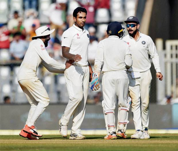 Spinners put India on verge of victory after 'Kohli Show'