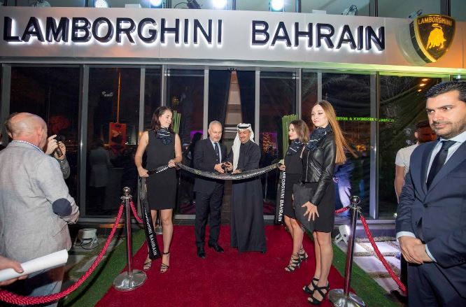 Lamborghini opens new showroom in Seef
