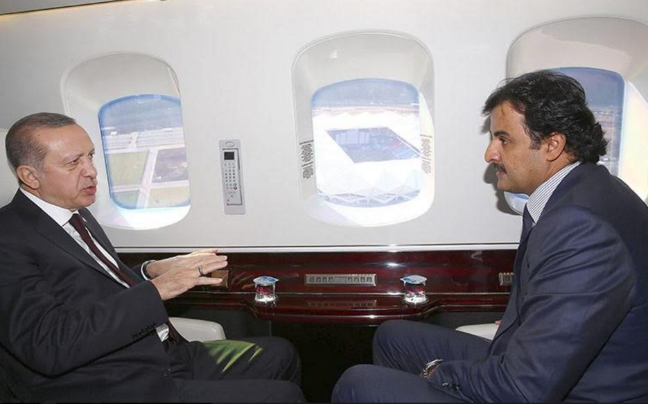 Turkish, Qatari leaders visit Trabzon