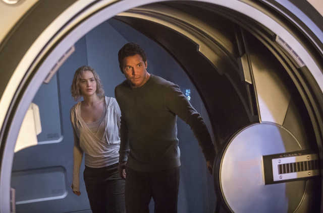 Movie Review: Star power can't correct awry path of 'Passengers'