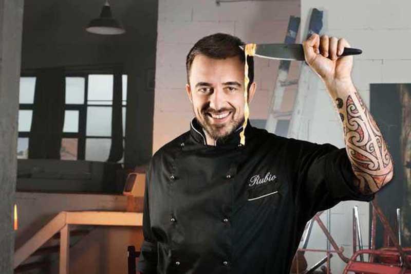 Celebrity chef Rubio at Cico's