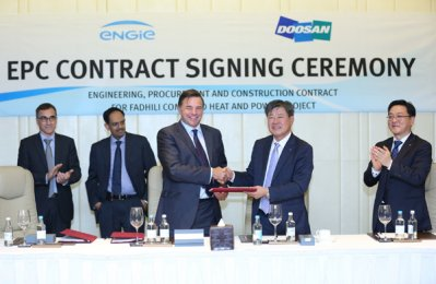 Doosan, Engie win $900m Saudi gas plant contract
