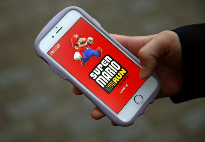Nintendo's Super Mario breaks download record