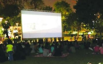 Open-air cinema programme launched