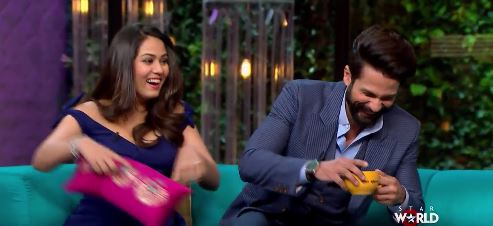 Candid revelations by Mira Rajput and Shahid Kapoor on 'Koffee with Karan'