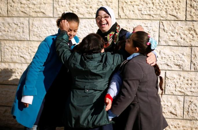 In Pictures: Meet Gaza's first teacher with Down Syndrome